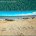 I Heart You Shores Of Lake Michigan by LeeAnn McLaneGoetz McLaneGoetzStudioLLCcom