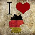 I Love Germany by Gina Dsgn