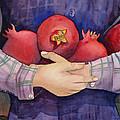 I Love Pomogranates by Shirin Shahram Badie