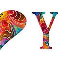 I Love You 17 - Heart Hearts Romantic Art by Sharon Cummings
