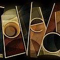 I Love You - Abstract  by Shevon Johnson