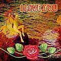I Love You Card by John Malone