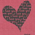 I Love You Heart by Jo Moulton