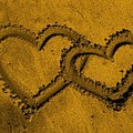 I Love You In The Sand by Bruce Nutting