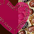 I Love You More Than I Love Chocolate 5 by Andee Design