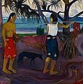 I Raro Te by Paul Gauguin
