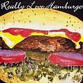 I Really Love Hamburgers by Carol Grimes
