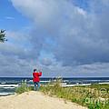 I See The Sea. Juodkrante. Lithuania by Ausra Huntington nee Paulauskaite