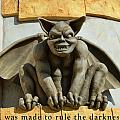 I Was Made To Rule Gargoyle Santa Cruz California by Barbara Snyder