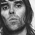 Ian Brown Pencil Drawing by David Rives