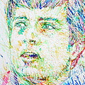 Ian Curtis Portrait by Fabrizio Cassetta