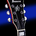 Ibanez Af75 Electric Hollowbody Guitar Headstock by John Cardamone