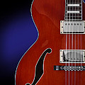 Ibanez Af75 Hollowbody Electric Guitar Front View by John Cardamone