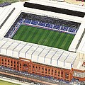 Ibrox Stadium by Kevin Fletcher