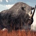 Ice Age Rhino by Daniel Eskridge