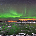 Ice And Auroras by Frank Olsen