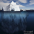Ice Arch Iceberg by Bryan and Cherry Alexander
