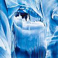 Ice Castles Painting by Tisha Art