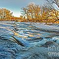 Ice Falls 2 by Baywest Imaging