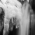 Ice Falls by Brad Brizek