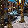 Ice Fountain by Baywest Imaging