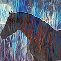 Ice Horse by Judy Wood
