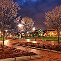 Ice In The Park - Greensboro by Dan Carmichael