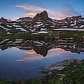Ice Lakes Basin Sunrise by Aaron Spong