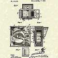 Ice Machine 1889 Patent Art by Prior Art Design