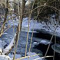 Ice On The Creek by Cheryl Gayser