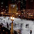 Ice Rink In Chicago  by John McGraw