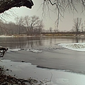 Ice River by Bonfire Photography