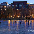 Ice Skating On Boston Common by Amazing Jules