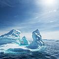 Iceberg, Gerlache Strait, Antarctic by Paul Souders