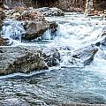 Iced Creek by DAC Photography