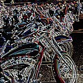 Iced Out Bikes by Anthony Wilkening
