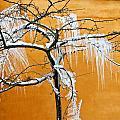 Iced Tree by Jean Schweitzer