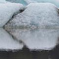 Iceland Fjallsjokull Glacier Reflects by Jaynes Gallery