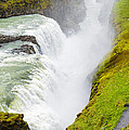 Iceland Gullfoss Waterfall by Matthias Hauser