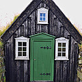 Icelandic Old House by Ivan Slosar