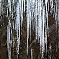 Icicles On A Cliff by Dwight Cook