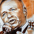 Icon Frank Sinatra by Gregory DeGroat