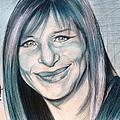 Iconic Barbra Streisand by Gregory DeGroat