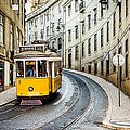 Iconic Lisbon Streetcar No. 28 IIi by Marco Oliveira
