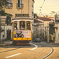 Iconic Lisbon Streetcar No. 28 Iv by Marco Oliveira