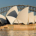 Icons One And Two - Sydney Australia. by Geoff Childs