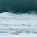 Icy Lake Michigan by Linda Kerkau