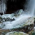 Icy Patapsco Waterfall 2 by Benjamin Reed