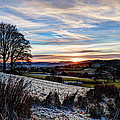 Icy Sunset by Beverly Cash