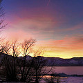 Icy Sunset by Dianne Phelps